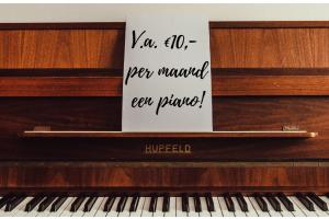 Goedkoop piano spelen!