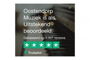 Oostendorp Muziek is als Uitstekend beoordeeld