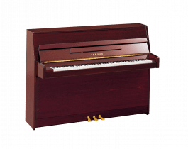 Yamaha B1 PM messing piano (mahonie hoogglans)