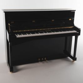 Sebastian Steinwald 110 (halve klep) PE messing piano