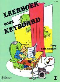 Joop van Houten Leerboek Voor Keyboard Deel 1