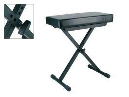 Boston OB-80 (skai zitting) zwart keyboardbank