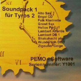 PEMO Soundpack 1 klankuitbreiding voor Tyros 2