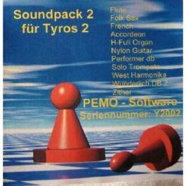 PEMO Soundpack 2 klankuitbreiding voor Tyros 2