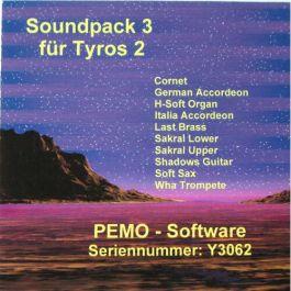 PEMO Soundpack 3 klankuitbreiding voor Tyros 2