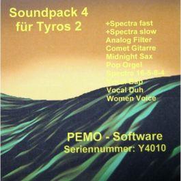 PEMO Soundpack 4 klankuitbreiding voor Tyros 2