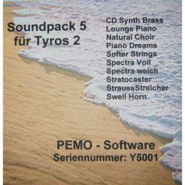 PEMO Soundpack 5 klankuitbreiding voor Tyros 2