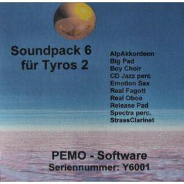 PEMO Soundpack 6 klankuitbreiding voor Tyros 2