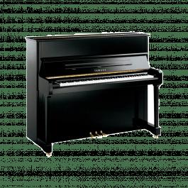 Yamaha P121 M PE messing piano (zwart hoogglans)