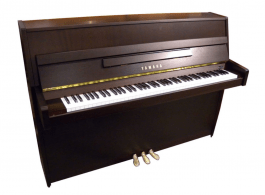 Yamaha B1 OPDW messing piano (donker noten)