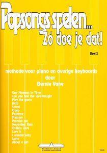 Bernie Vane Popsongs spelen; zo doe je dat! Deel 3