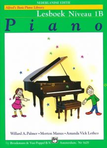 Alfred's Basic Piano Library Lesboek Niveau 1B (+CD)