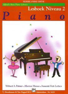Alfred's Basic Piano Library Lesboek Niveau 2