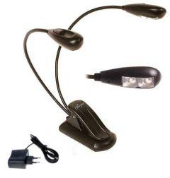 Entrada Musiclight LD-2C B warm LED lamp met adapter