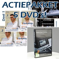 Oostendorp Tyros 3 workshop actiepakket - 5 dvd's