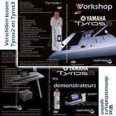 Oostendorp Tyros 3 workshop actiepakket - 1 + 1 dvd gratis!