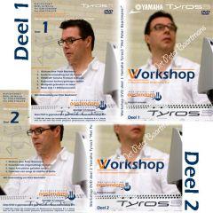 Oostendorp Tyros 3 workshop actiepakket - 2 dvd's Peter Baar