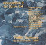 PEMO Soundpack 9 klankuitbreiding voor Tyros 3/4