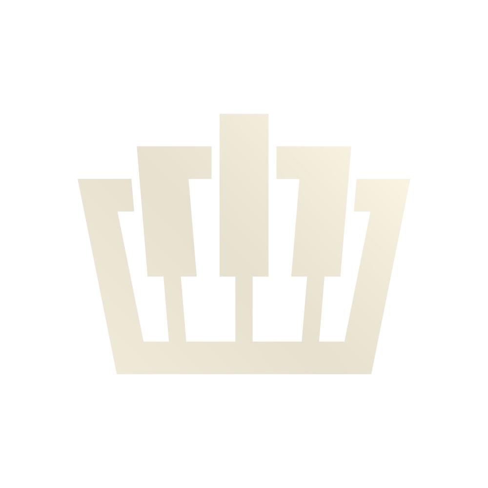 Entrada Pianostandaard voor P105/P115 WH