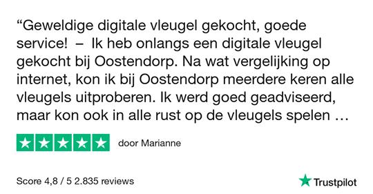 Oostendorp Digital Classic Mini Grand Deluxe IV PWH chroom