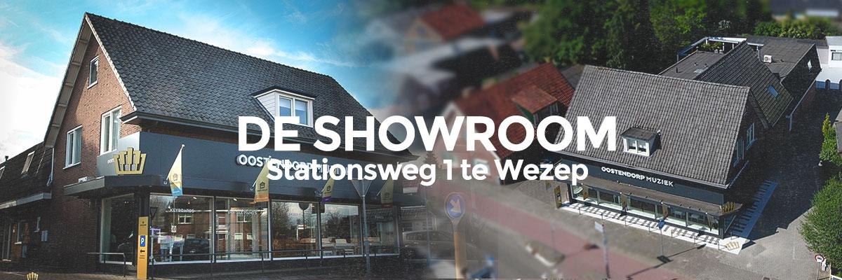 Showroom Oostendorp Muziek