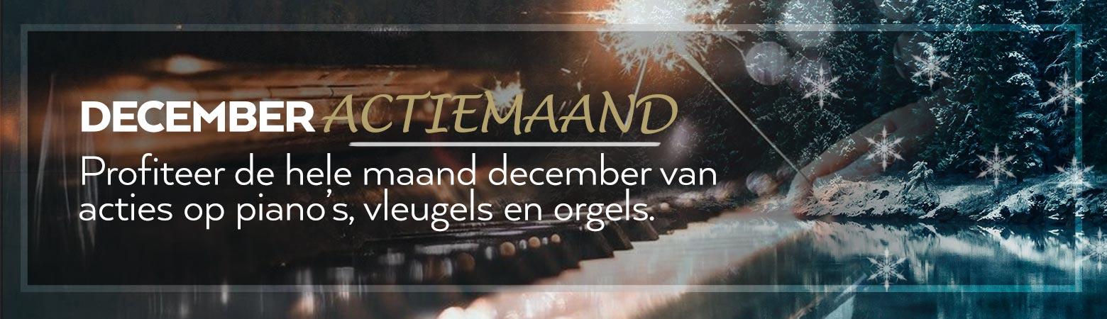 Decembermaand is actiemaand bij Oostendorp Muziek!