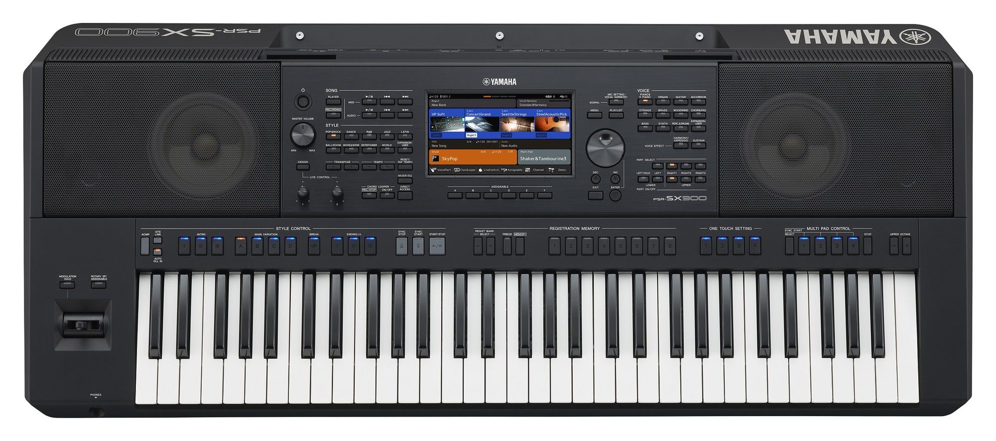 Yamaha PSR-SX700 en SX900 workstation keyboards