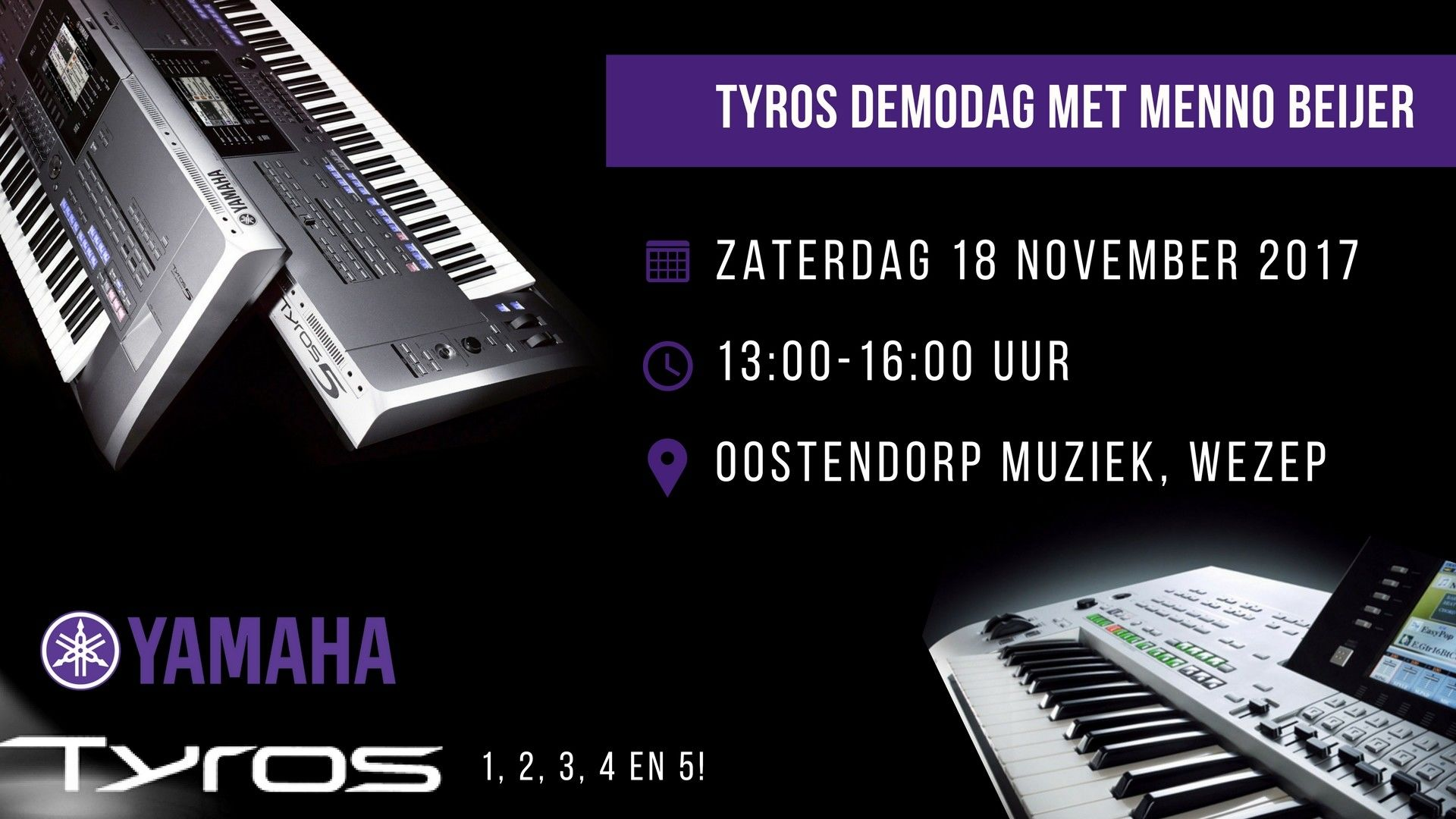 18-11: Tyros Occasion Demodag met Menno Beijer