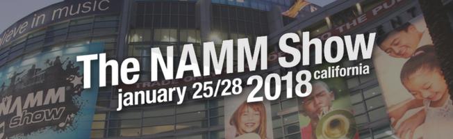 Winter NAMM 2018 | Bekijk hier al het nieuws!