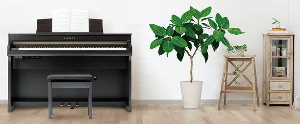 NAMM 2018 nieuwe digitale piano's CA & CN-serie van Kawai