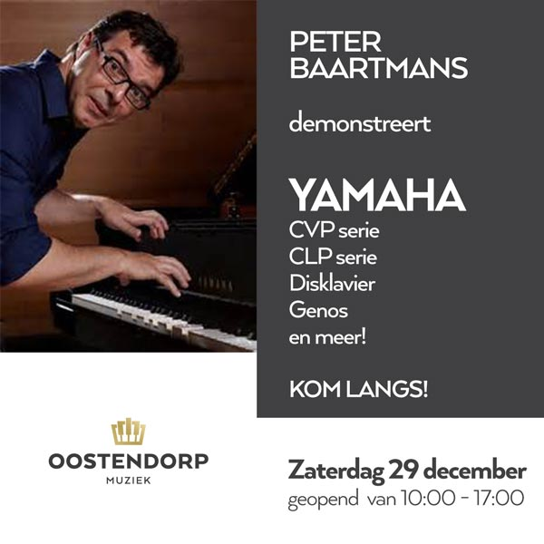 29 december: Yamaha demonstratie Peter Baartmans