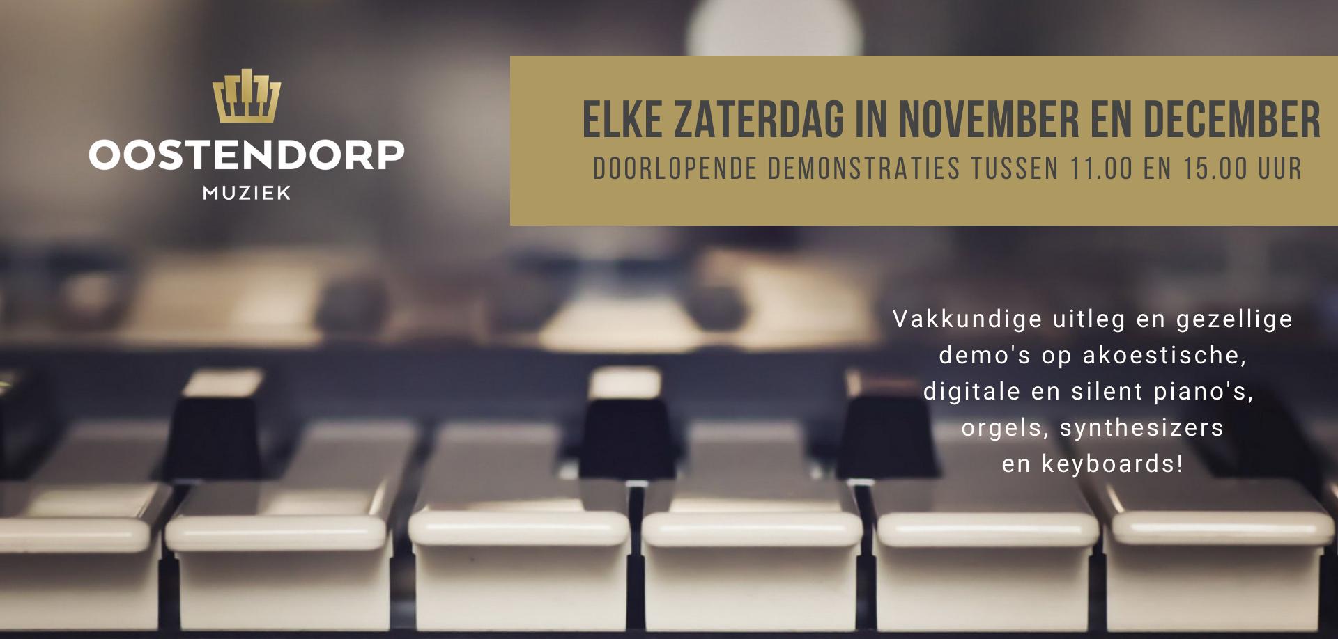 Workshops november en december
