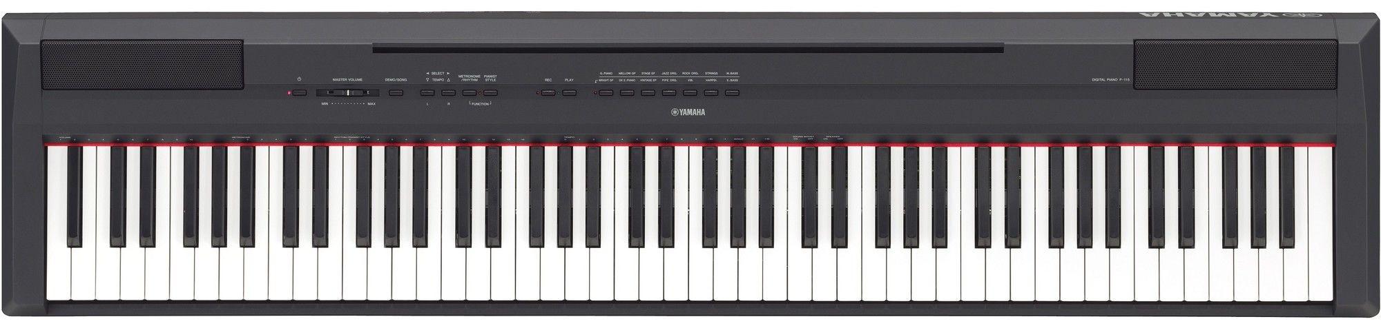 Nieuw in de showroom: Yamaha P115