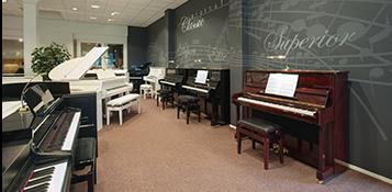 oostendorp muziek showroom
