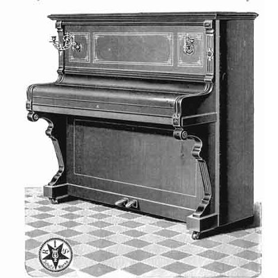 Ibach piano Oostendorp